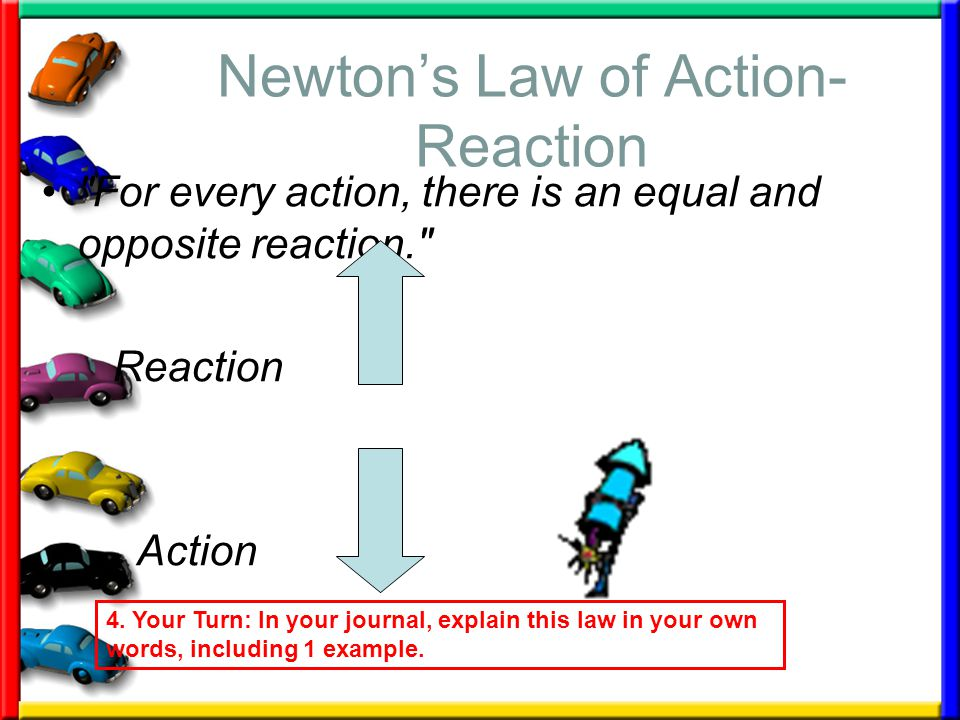 Newton's Law of Action-Reaction