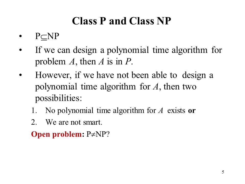 Class P and Class NP PNP