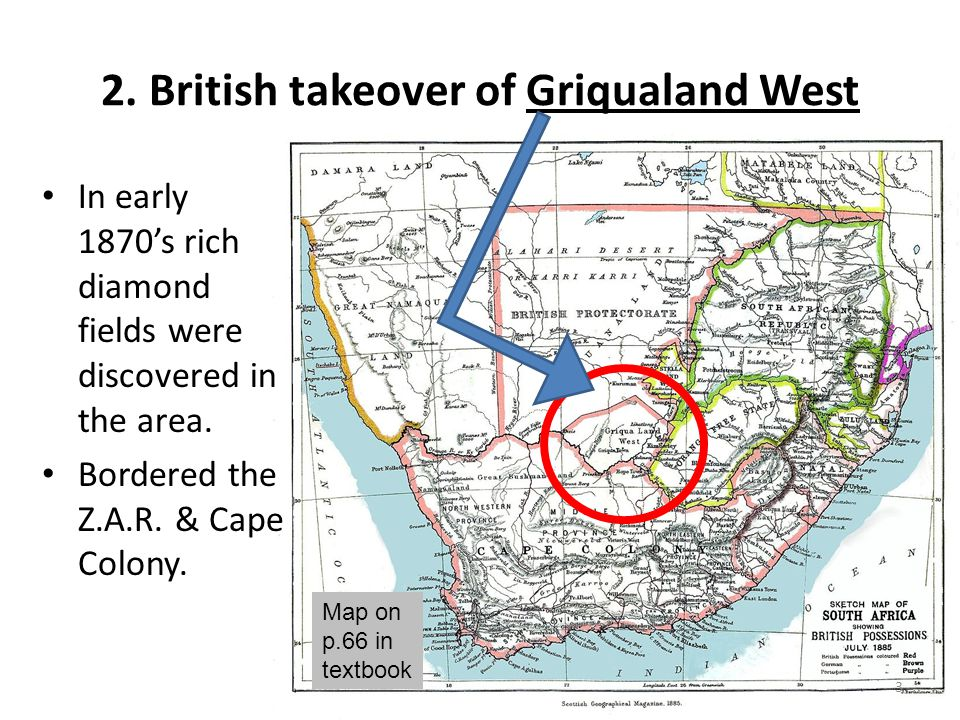 2. British takeover of Griqualand West