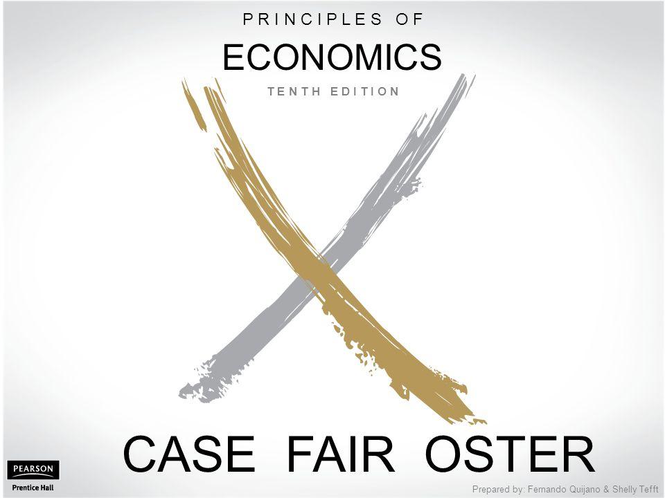 CASE FAIR OSTER ECONOMICS P R I N C I P L E S O F