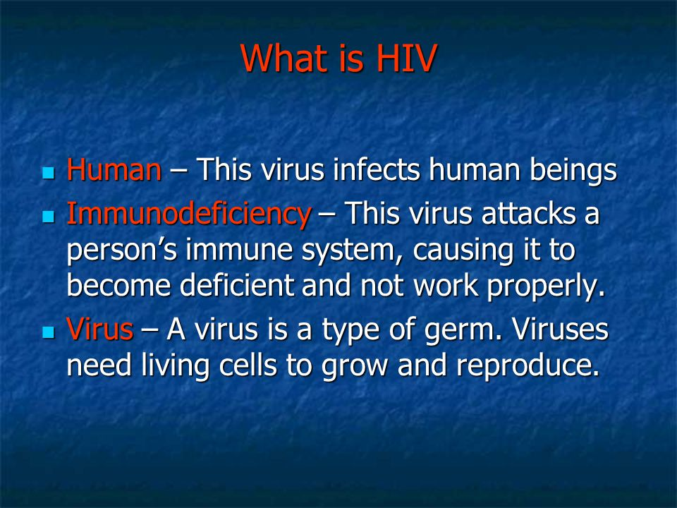 What is HIV Human – This virus infects human beings
