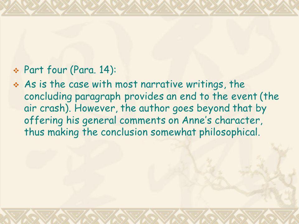 Part four (Para. 14):