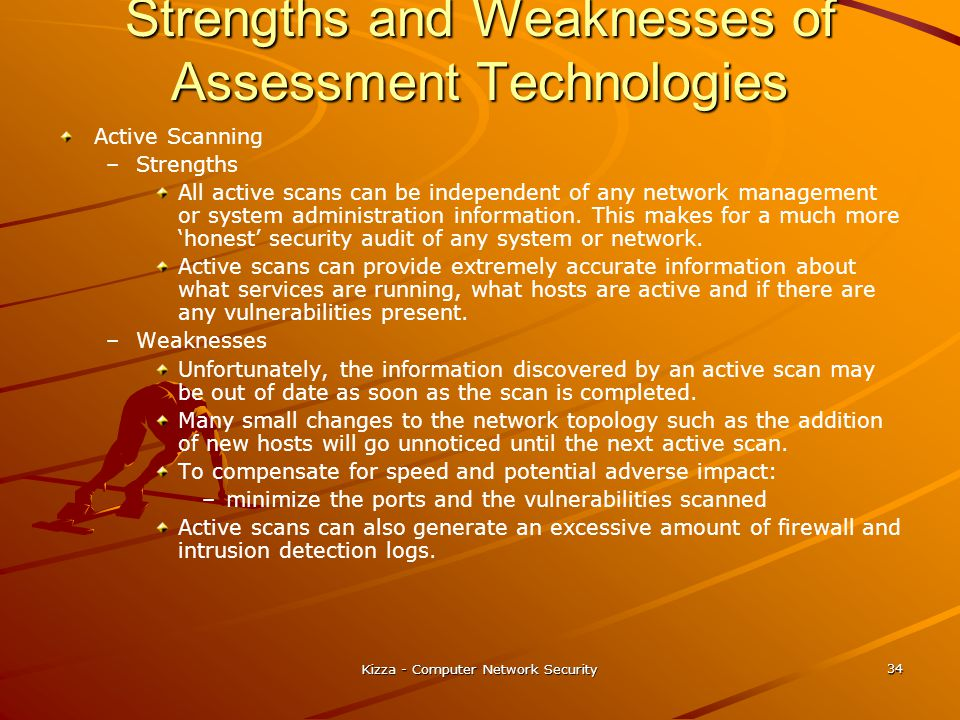 Strengths and Weaknesses of Assessment Technologies