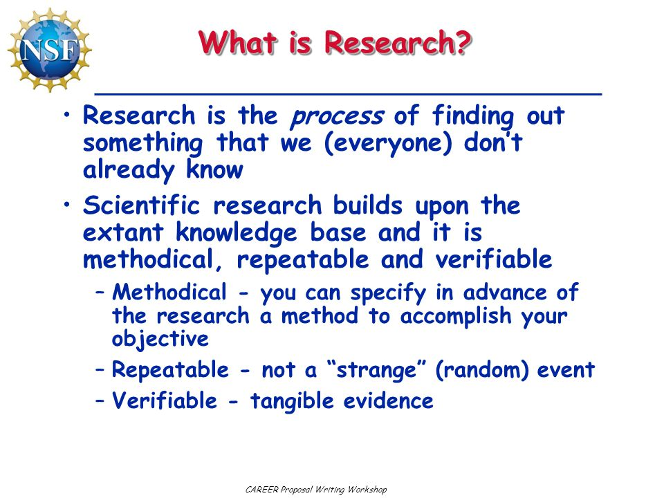 What is Research Research is the process of finding out something that we (everyone) don't already know.