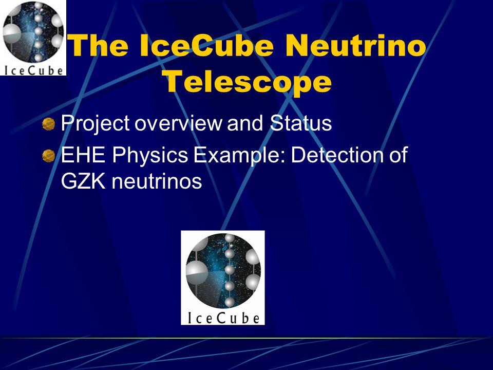 The IceCube Neutrino Telescope
