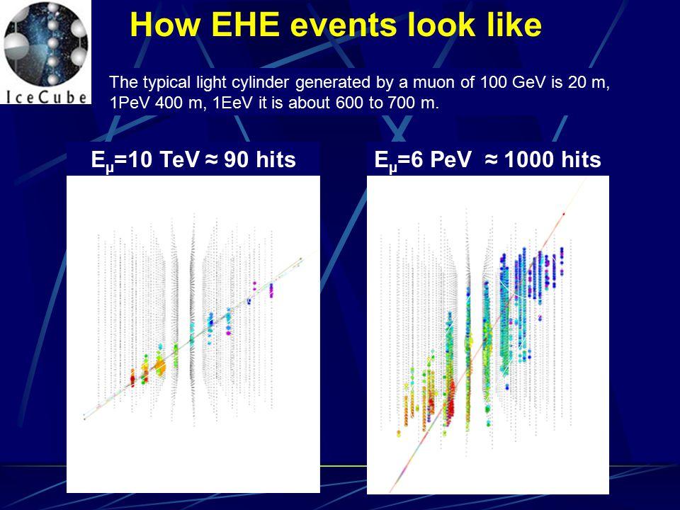 How EHE events look like