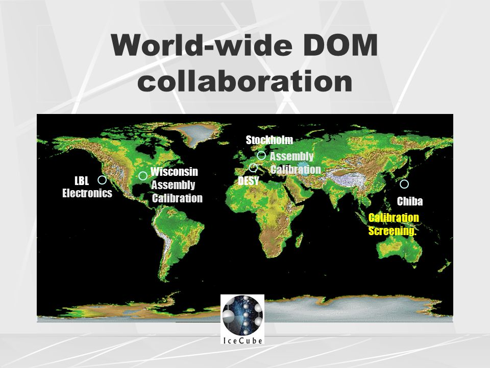 World-wide DOM collaboration