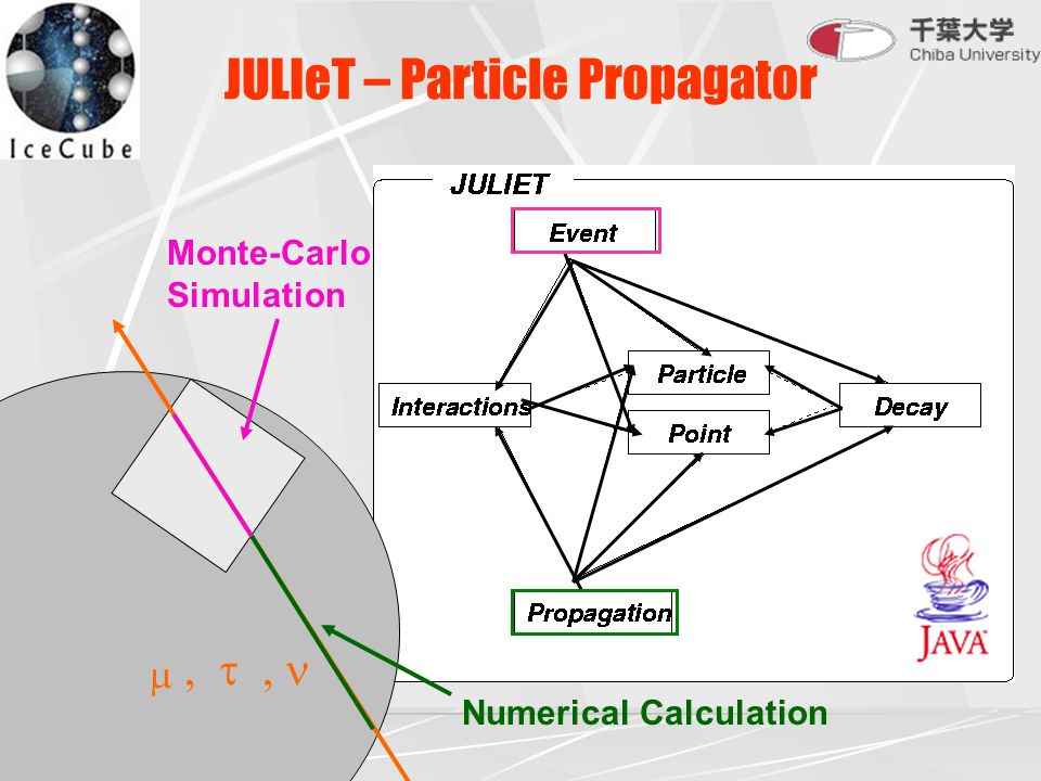 JULIeT – Particle Propagator