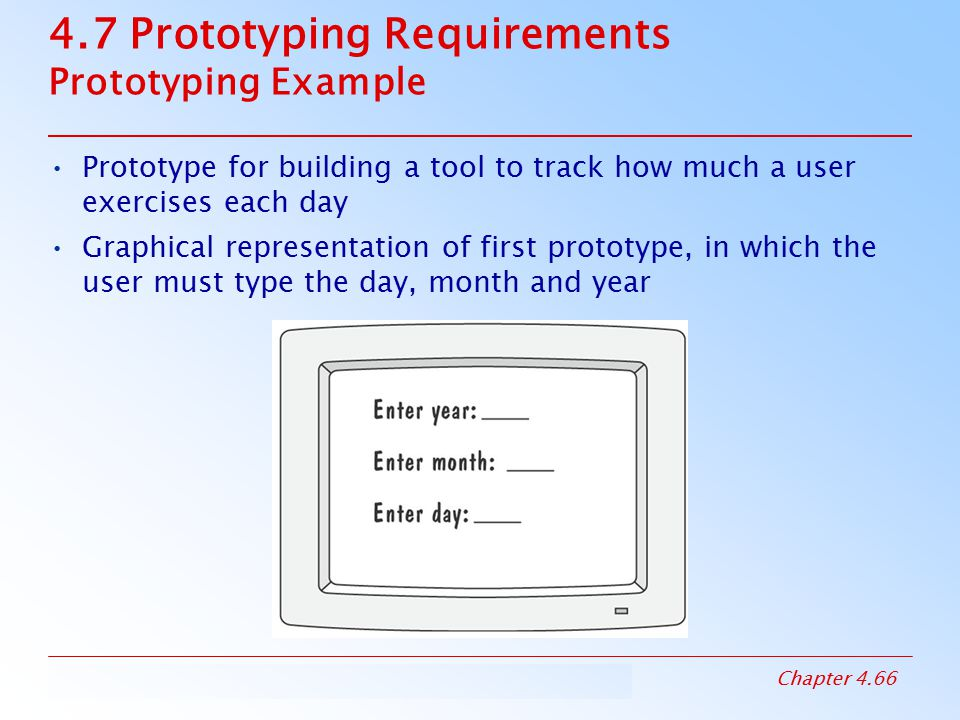4.7 Prototyping Requirements Prototyping Example