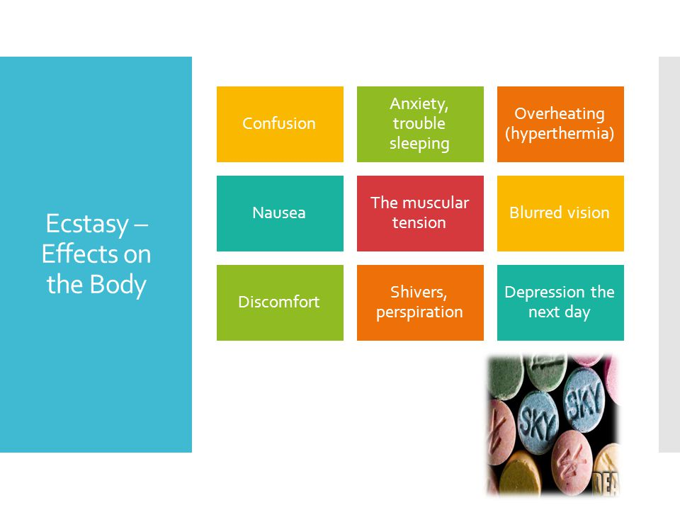 Ecstasy – Effects on the Body