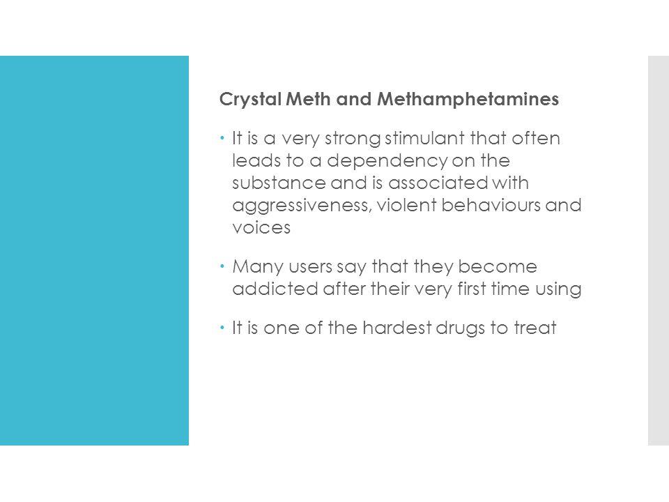 Crystal Meth and Methamphetamines
