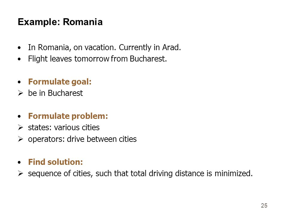 Example: Romania In Romania, on vacation. Currently in Arad.