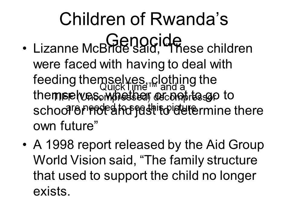 Children of Rwanda's Genocide