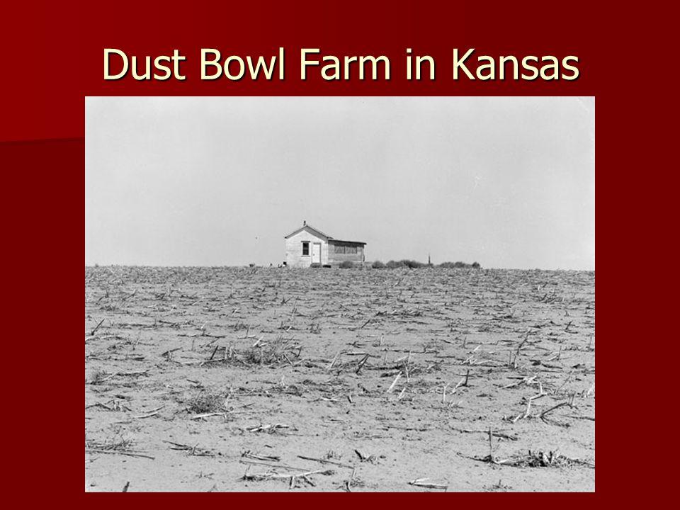 Dust Bowl Farm in Kansas
