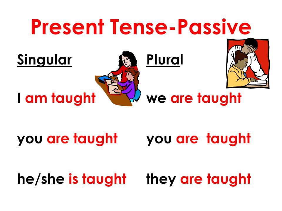 Present Tense-Passive