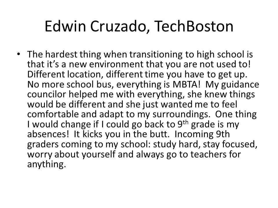 Edwin Cruzado, TechBoston