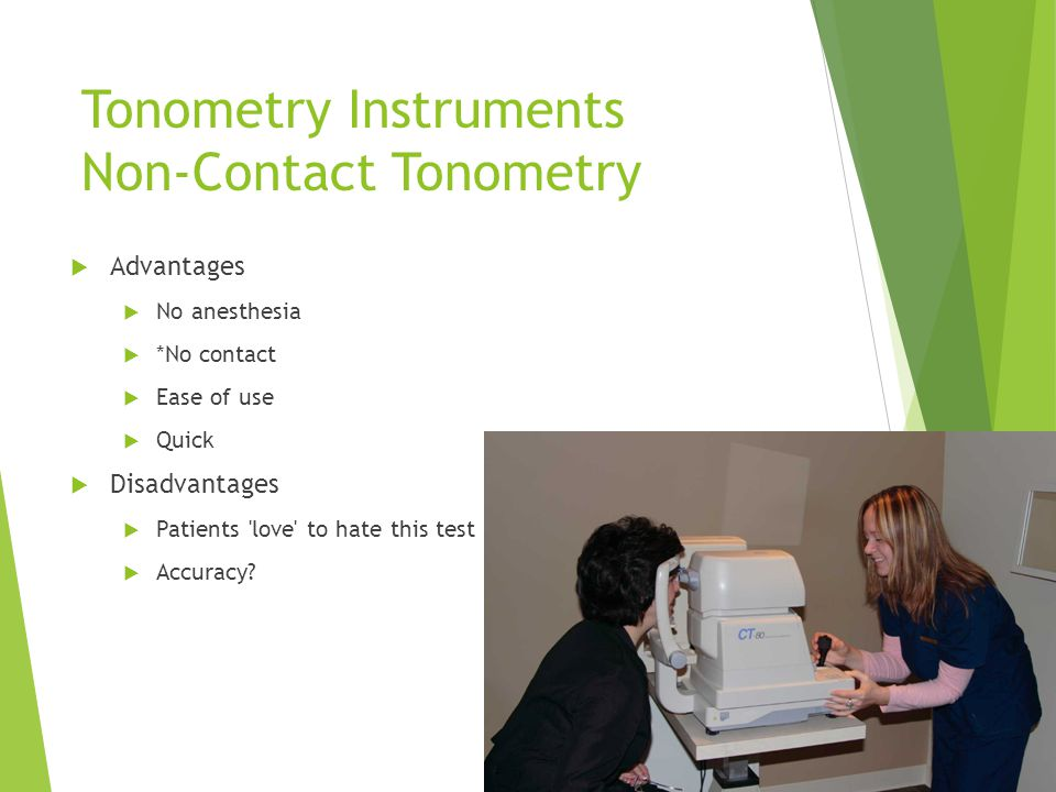 Tonometry Instruments Non-Contact Tonometry