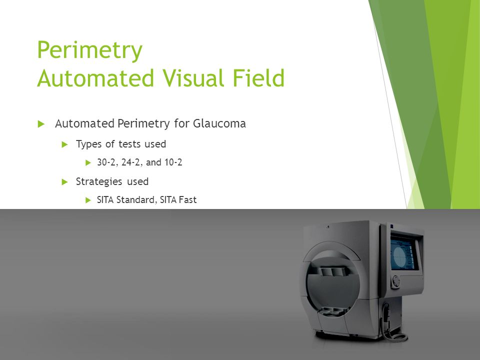 Perimetry Automated Visual Field