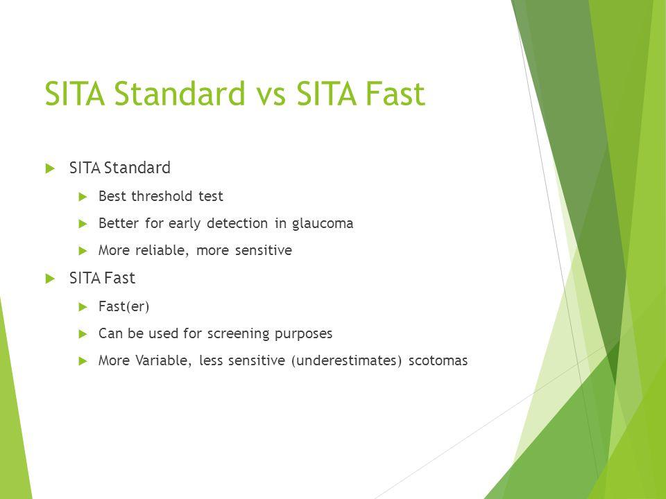 SITA Standard vs SITA Fast