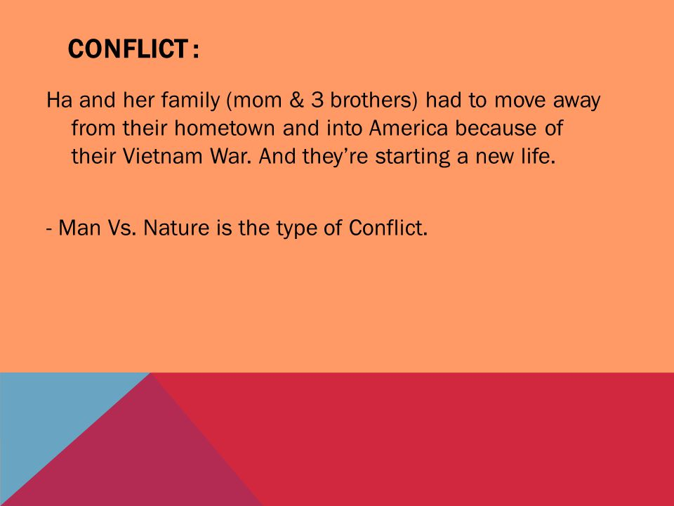 Conflict :