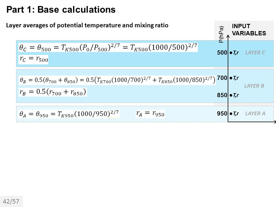 Part 1: Base calculations