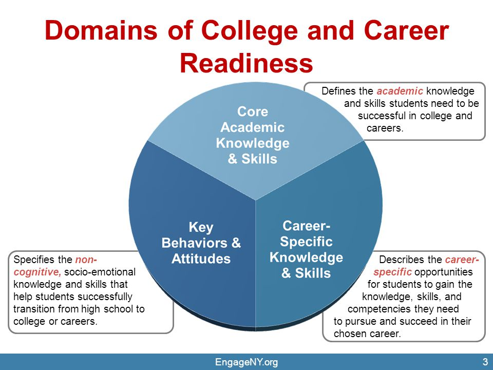 Domains of College and Career Readiness