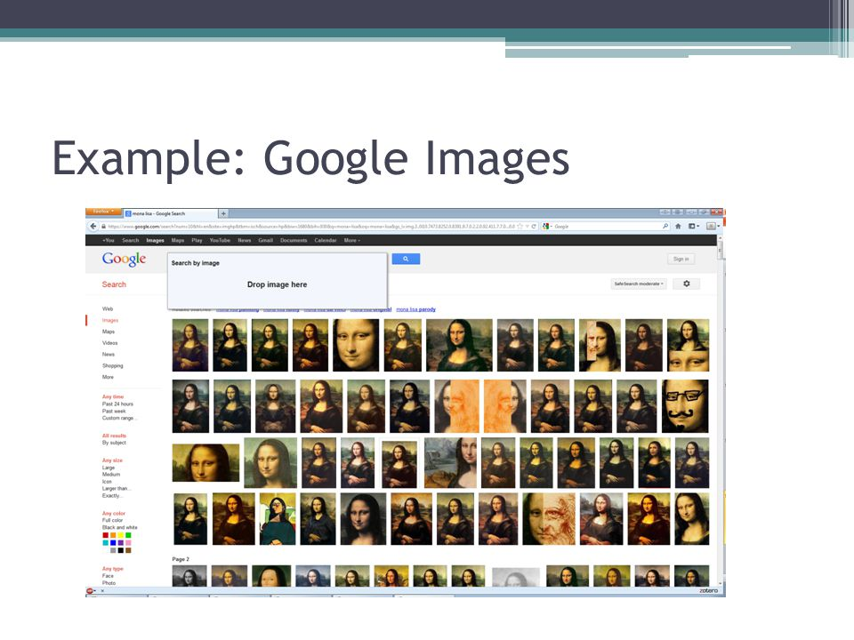 Example: Google Images
