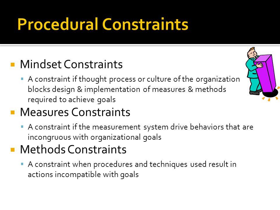 Procedural Constraints