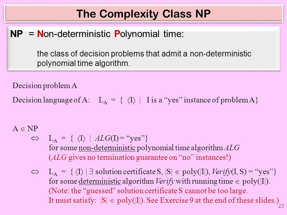 The Complexity Class NP
