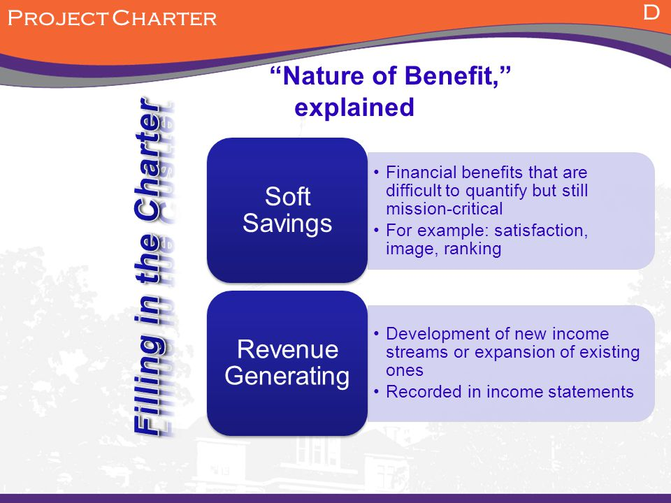 Nature of Benefit, explained