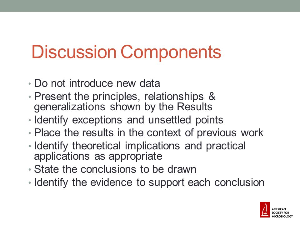 Discussion Components