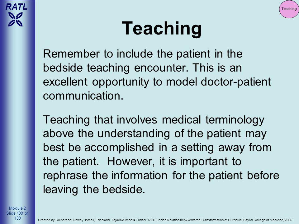 Teaching Teaching.