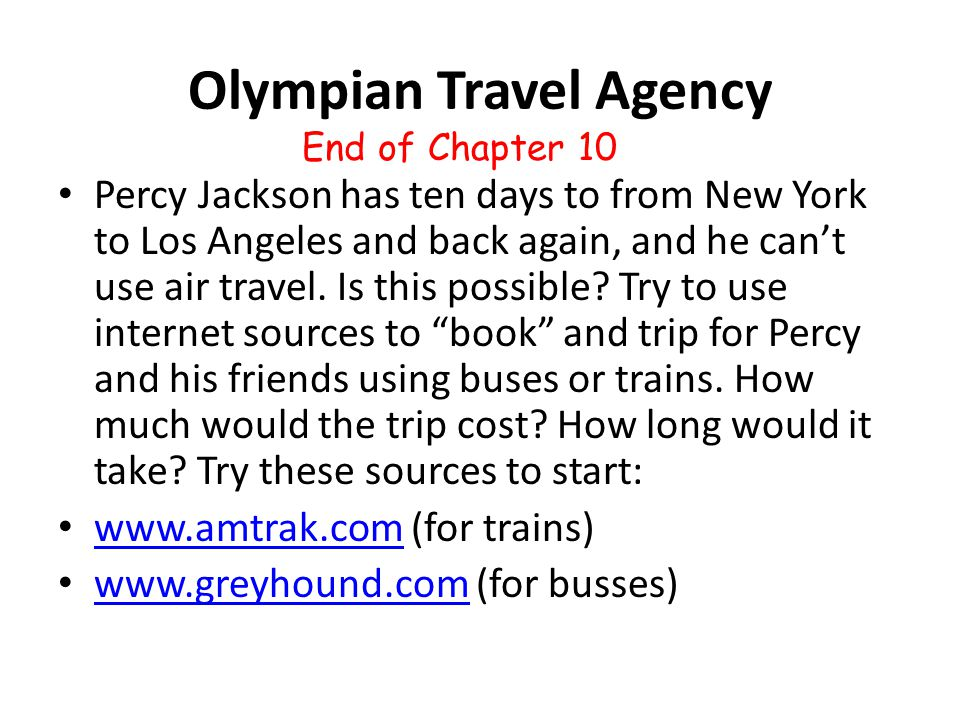Olympian Travel Agency