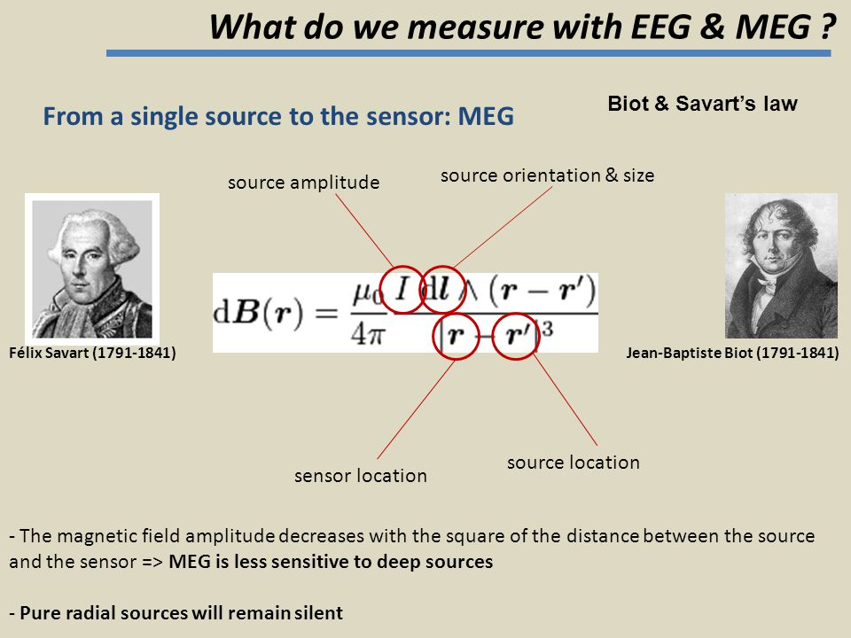 What do we measure with EEG & MEG