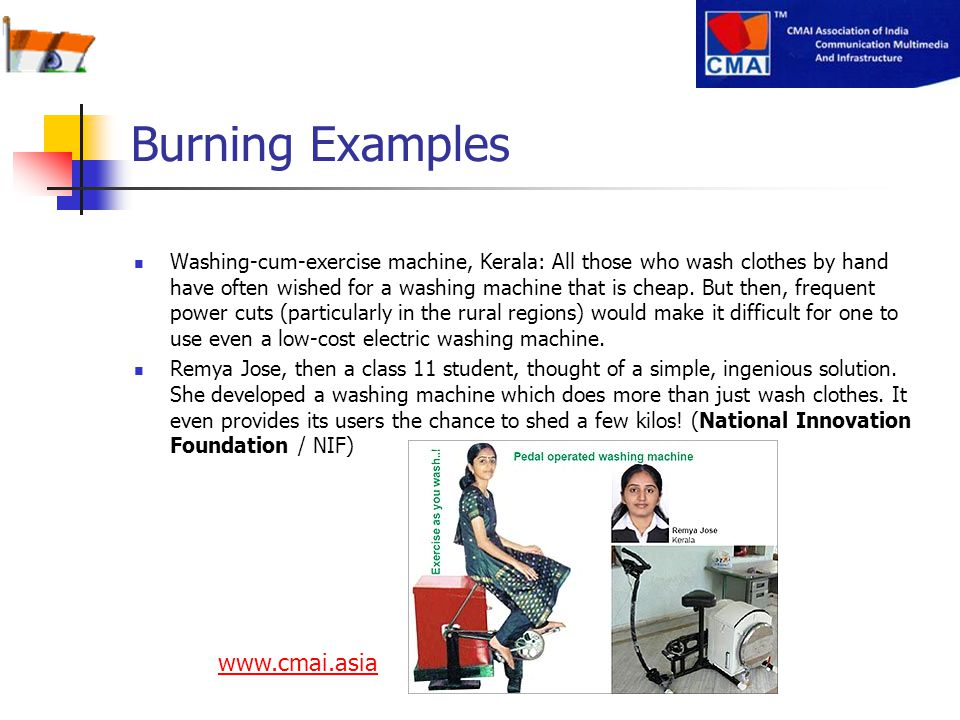 Burning Examples www.cmai.asia