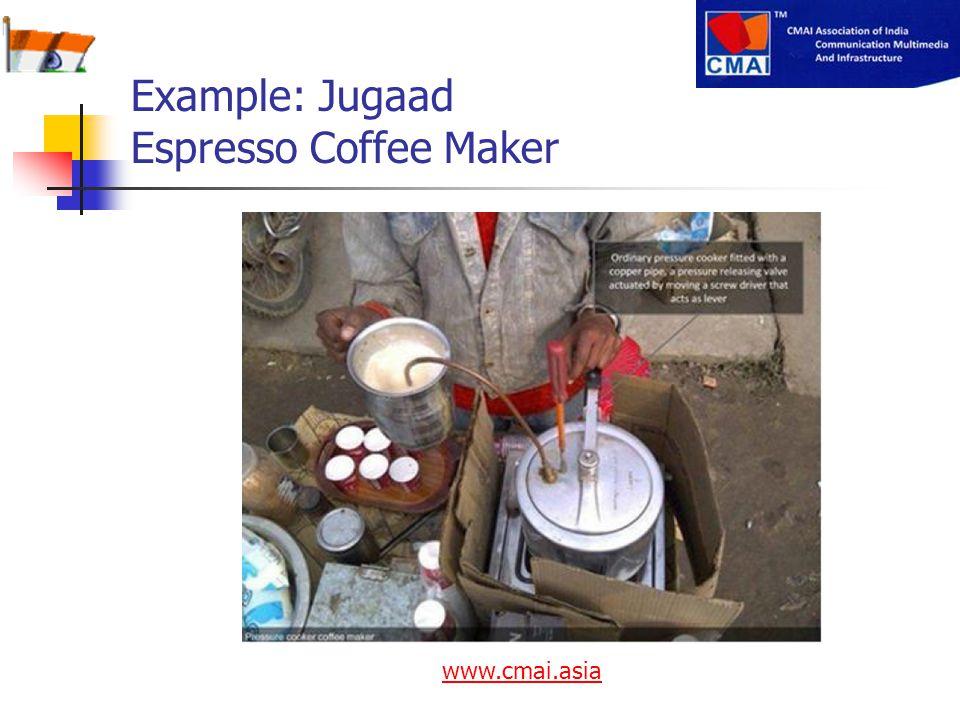 Example: Jugaad Espresso Coffee Maker