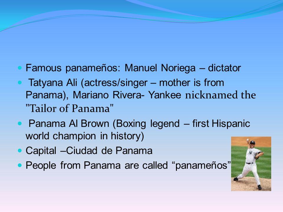 Famous panameños: Manuel Noriega – dictator