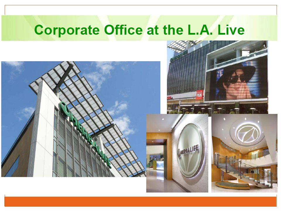 Here is our corporate office at L.A. Live