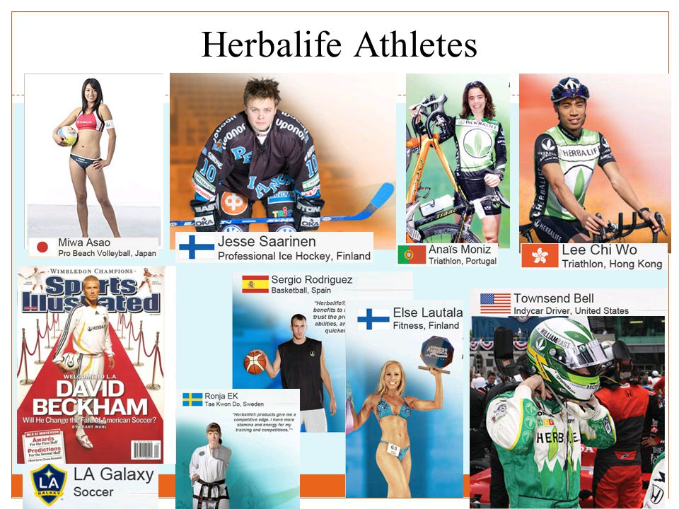Herbalife Athletes 37