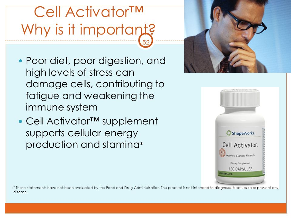 Cell Activator™ Why is it important
