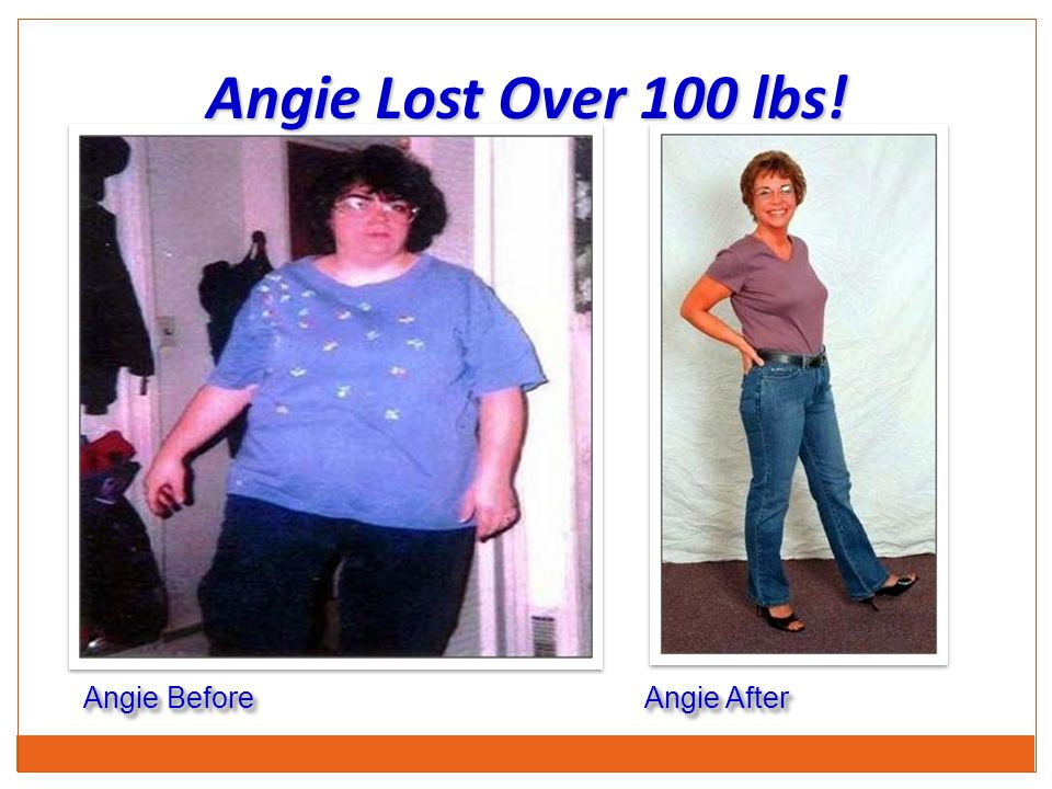 Angie Lost Over 100 lbs! Angie Before Angie After