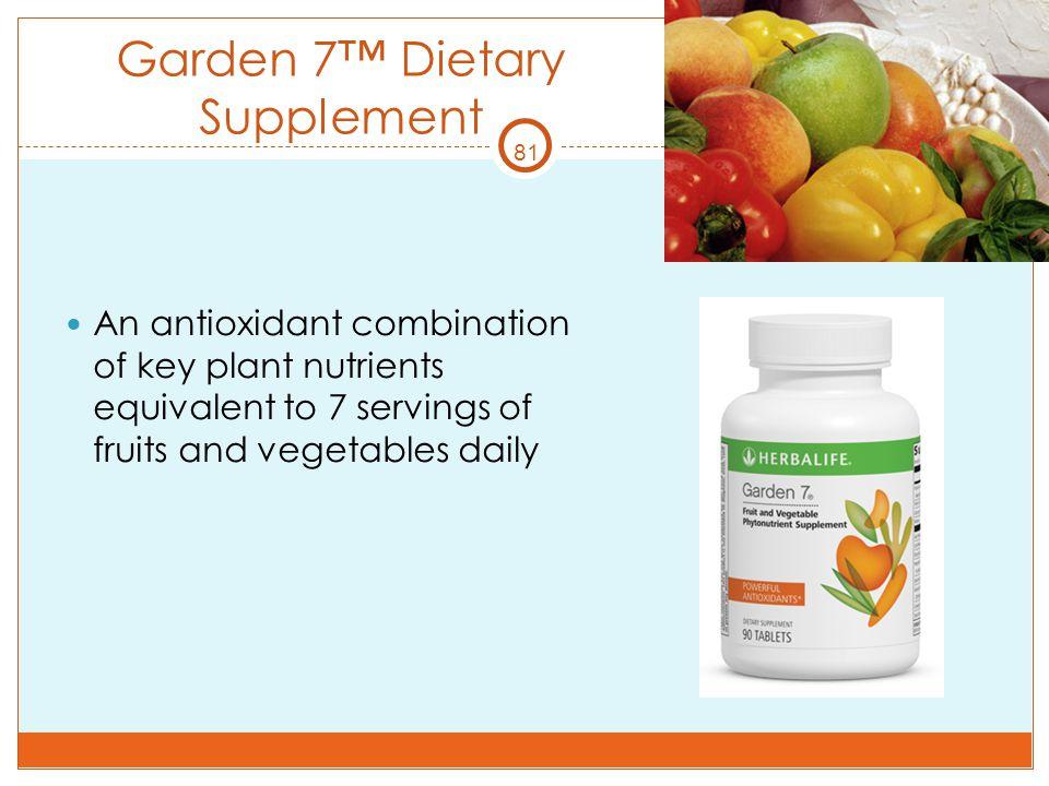 Garden 7™ Dietary Supplement