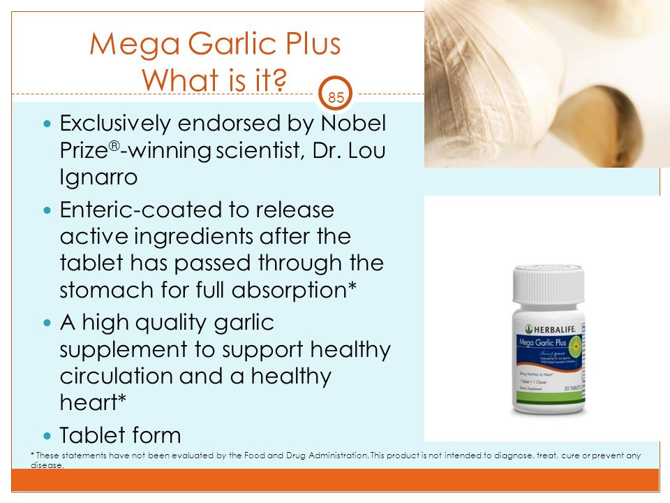 Mega Garlic Plus What is it