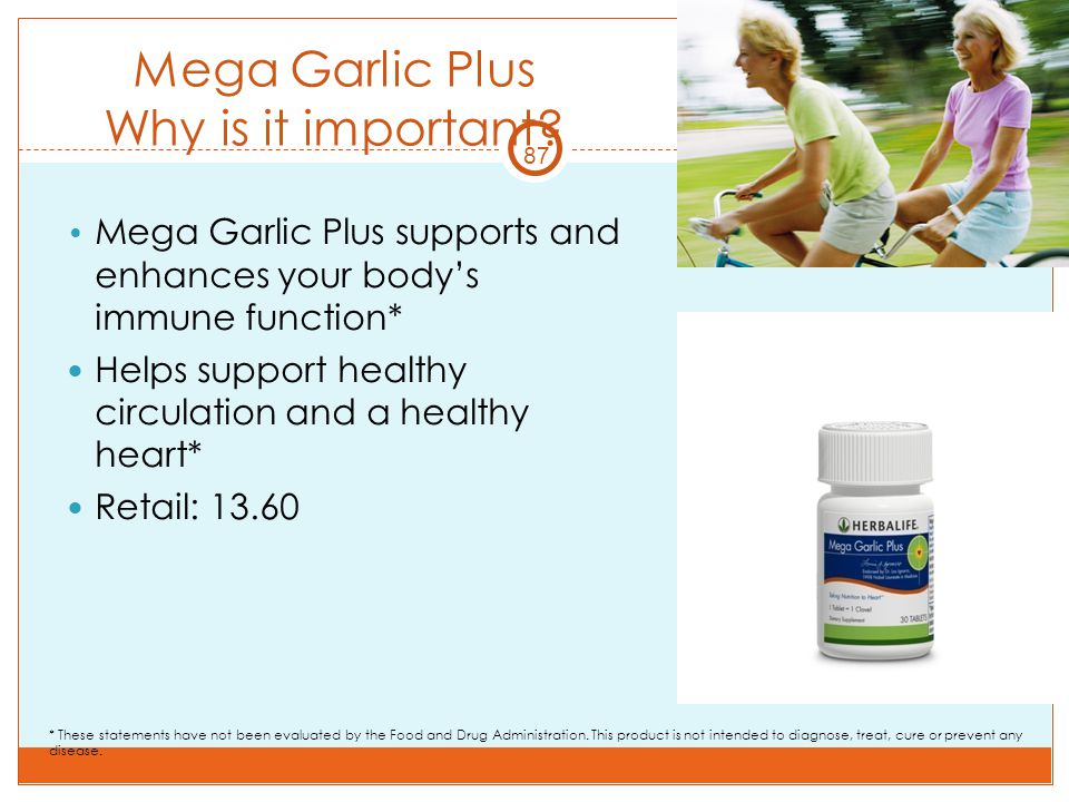 Mega Garlic Plus Why is it important