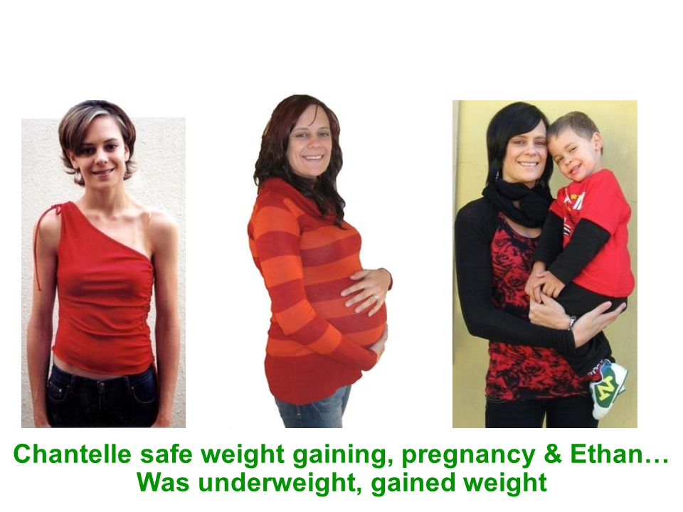 Chantelle safe weight gaining, pregnancy & Ethan…