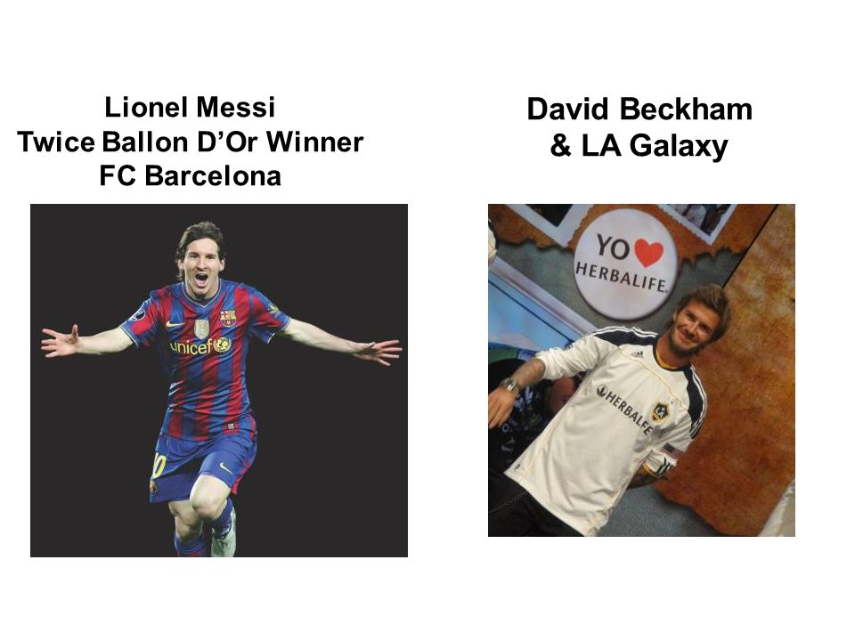 Twice Ballon D'Or Winner David Beckham & LA Galaxy