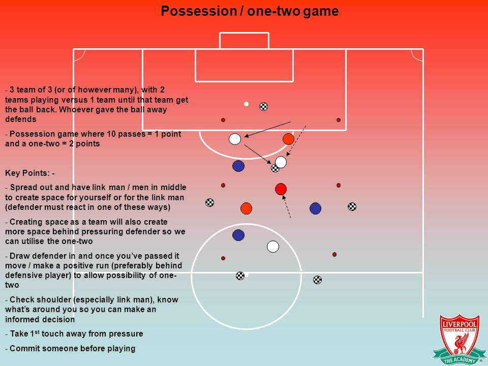 Possession / one-two game