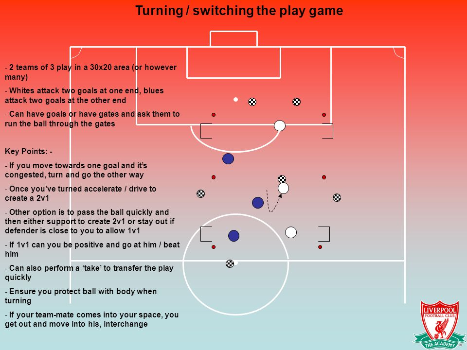 Turning / switching the play game