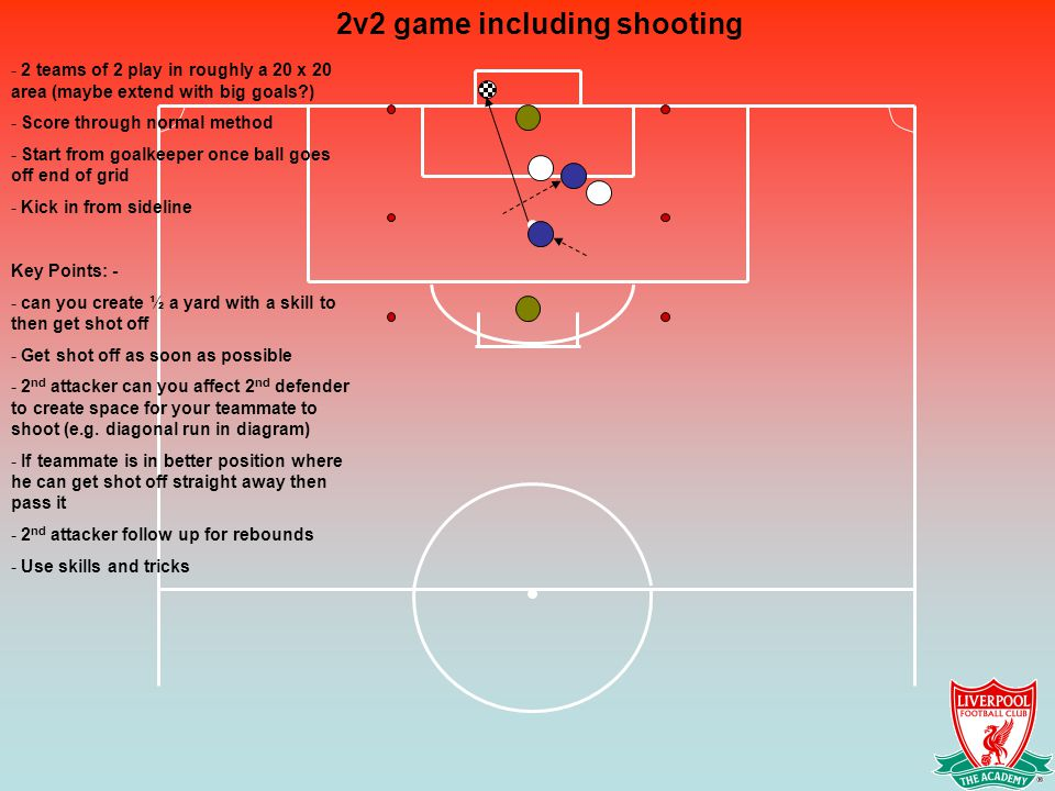 2v2 game including shooting