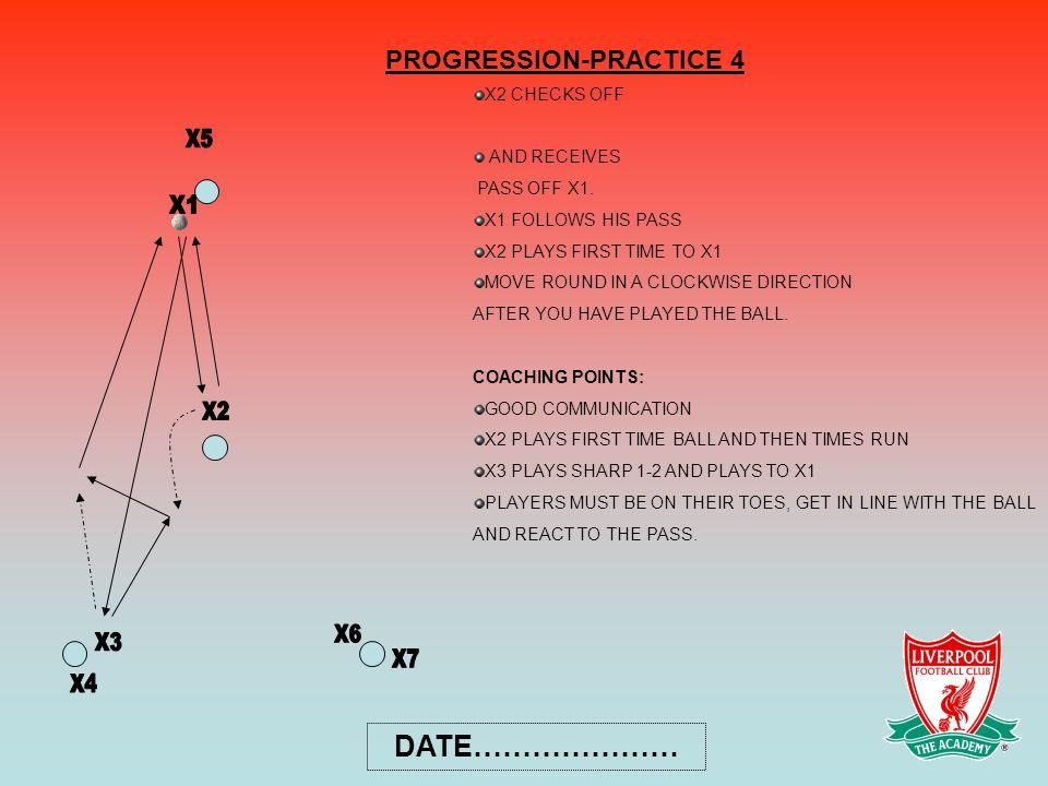 PROGRESSION-PRACTICE 4